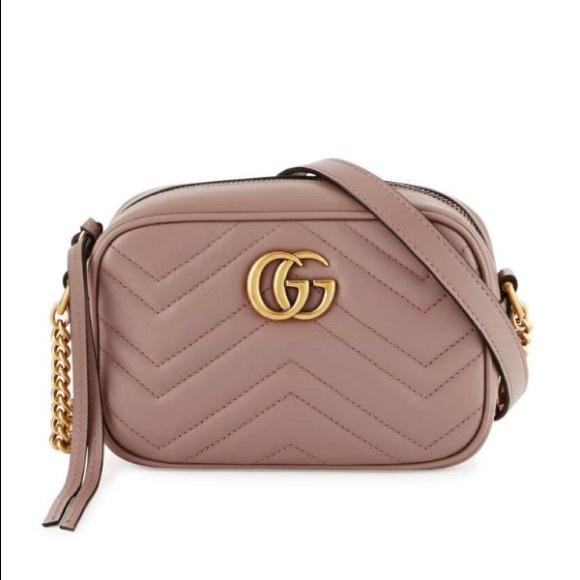 1cf45eeafb4109 Gucci Bags | Brand New Gg Marmont Mini Crossbody Bag | Poshmark